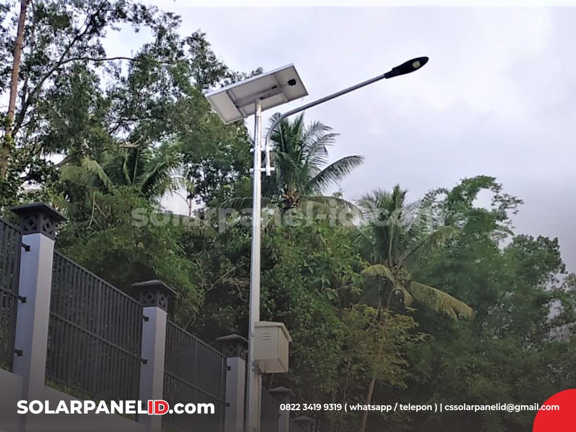 harga PJU solar cell 40 watt satu set