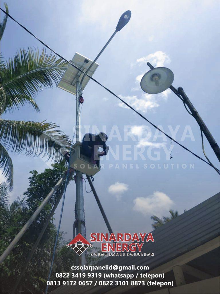 harga PJU solarcell 20 watt