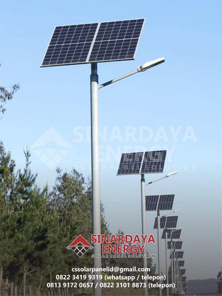harga PJU solarcell 50 watt