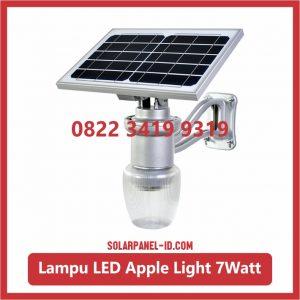 Harga Lampu Taman Tenaga Surya Apple Light 7watt