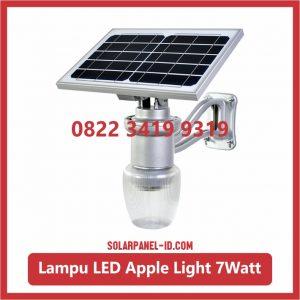 Harga Lampu Taman Tenaga Surya Apple Light 7watt