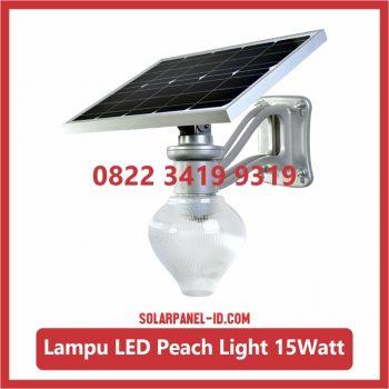 Harga Lampu Taman Tenaga Surya Peach Light 15watt