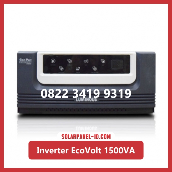 Inverter Luminous Eco Volt Square Wave 1500va ecovolt 1500 va UPS
