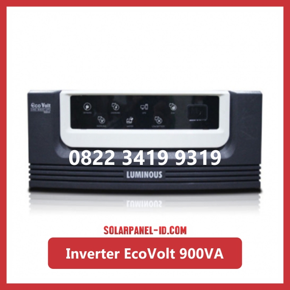 Inverter Luminous Eco Volt Square Wave 900va ecovolt 900 va UPS