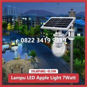 Jual Lampu Taman Tenaga Surya Apple Light 7watt Surabaya