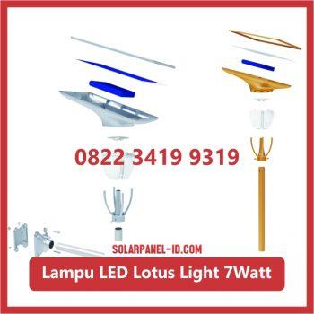 Jual Lampu Taman Tenaga Surya Lotus Light 7watt Surabaya
