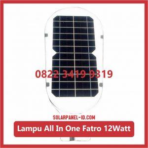 Lampu AIO 12watt