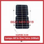 Lampu PJU Solarcell All In One Fatro 24watt