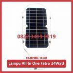 Lampu PJU Solarcell All In One Fatro 24watt