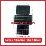 Lampu PJU Solarcell All In One Fatro 50watt
