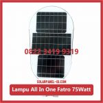 Lampu PJU Solarcell All In One Fatro 75watt