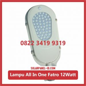 Lampu PJU AIO 12watt