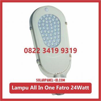 Lampu PJU AIO 24watt