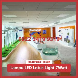 Lampu Taman Tenaga Surya Murah Lotus Light 7watt
