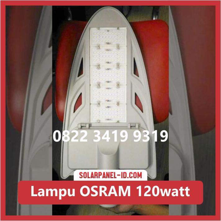 lampu PJU Tenaga Surya led osram 120watt