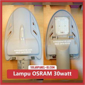 lampu PJU Tenaga Surya led osram 30watt