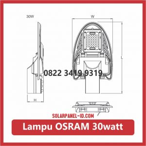 lampu led osram 30watt