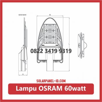 lampu led osram 60watt