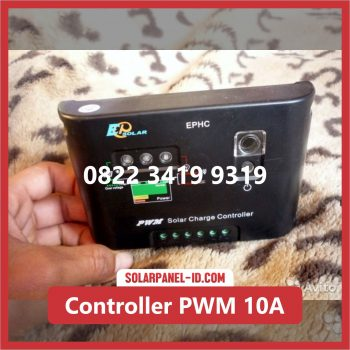 Distributor Solar Charge Controller PWM 10A 12v 24v Solar Cell Solarcell Solar Panel Surya