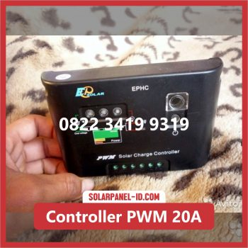 Distributor Solar Charge Controller PWM 20A 12v 24v Solar Cell Solarcell Solar Panel Surya