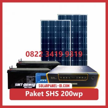 Harga paket solar home system solarcell solar cell 200wp