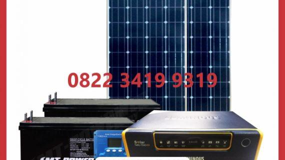Paket SHS Tenaga Surya 200wp 2000watt