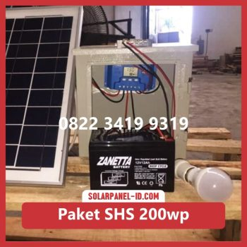 Harga paket solar home system solarcell solar cell 200wp murah