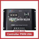 Solar Charge Controller PWM 20A 12v 24v