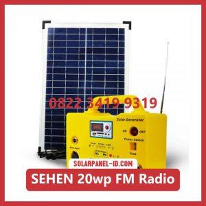 harga lampu sehen tenaga surya 20wp