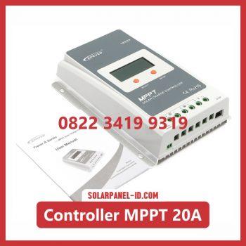 harga solar charge controller 20a 12 volt - 24 volt