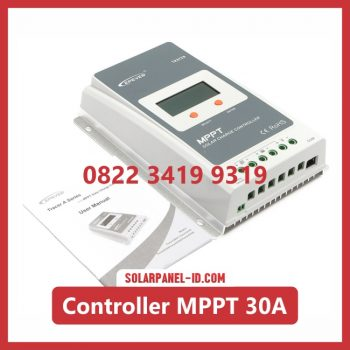 harga solar charge controller 30a 12 volt - 24 volt