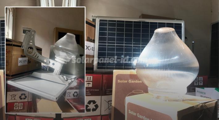 jual lampu taman tancap tenaga peach light surya 15 watt murah