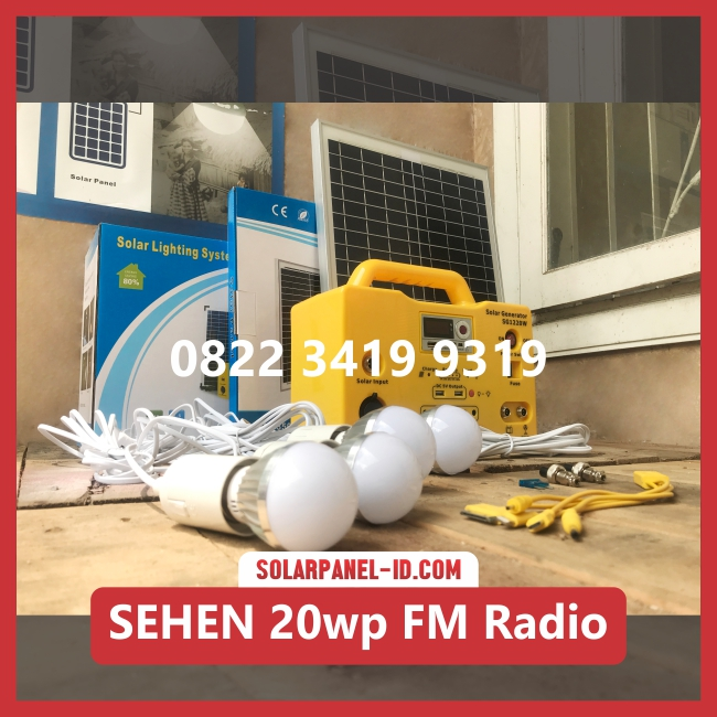 paket sehen murah 20wp radio fm