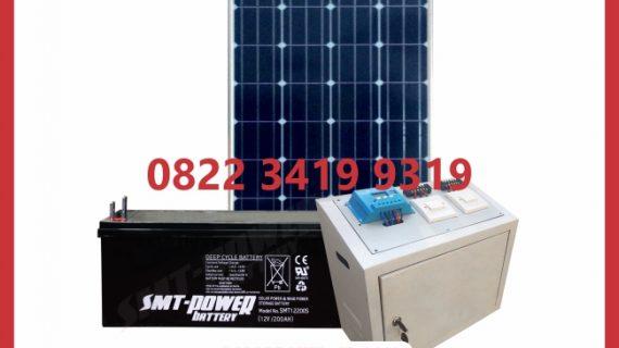 Paket SHS Tenaga Surya 100wp 1000watt
