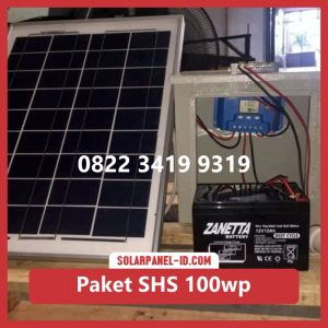 Harga paket solar home system solarcell solar cell 100wp murah