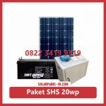 Harga paket solar home system solarcell solar cell 20wp