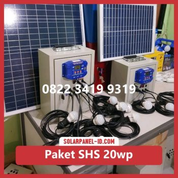 Jual paket solar home system solarcell solar cell 20wp