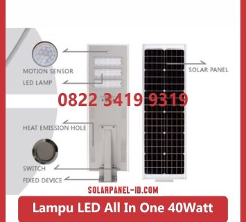 Lampu PJU All In One 40watt
