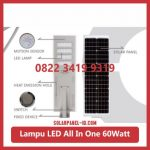 Lampu PJU All In One 60watt