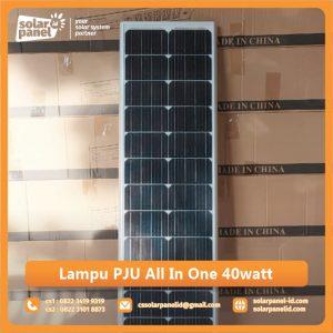 jual lampu pju all in one 40watt surabaya