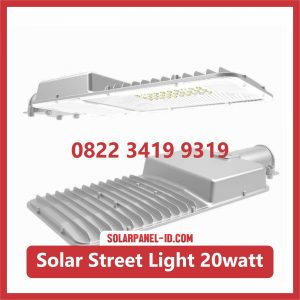 Jual Lampu LED AIO Solar Street Light 20watt