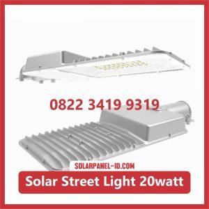 Jual Lampu LED AIO Solar Street Light 20watt