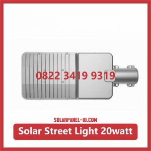 Jual Lampu LED AIO Solar Street Light 20watt Murah