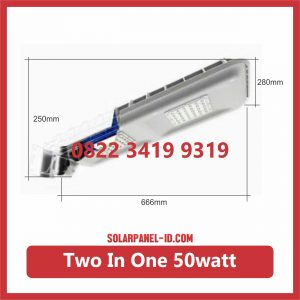 Jual Lampu LED Two In One 50watt Lithium