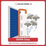 Paket Lampu SEHEN Solar Cell | Penerangan Lampu Sehen 32wp
