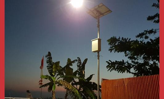 Distributor Lampu PJU Tenaga Surya Pasuruan