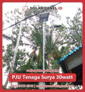 jual pju solar cell 30 watt 30watt