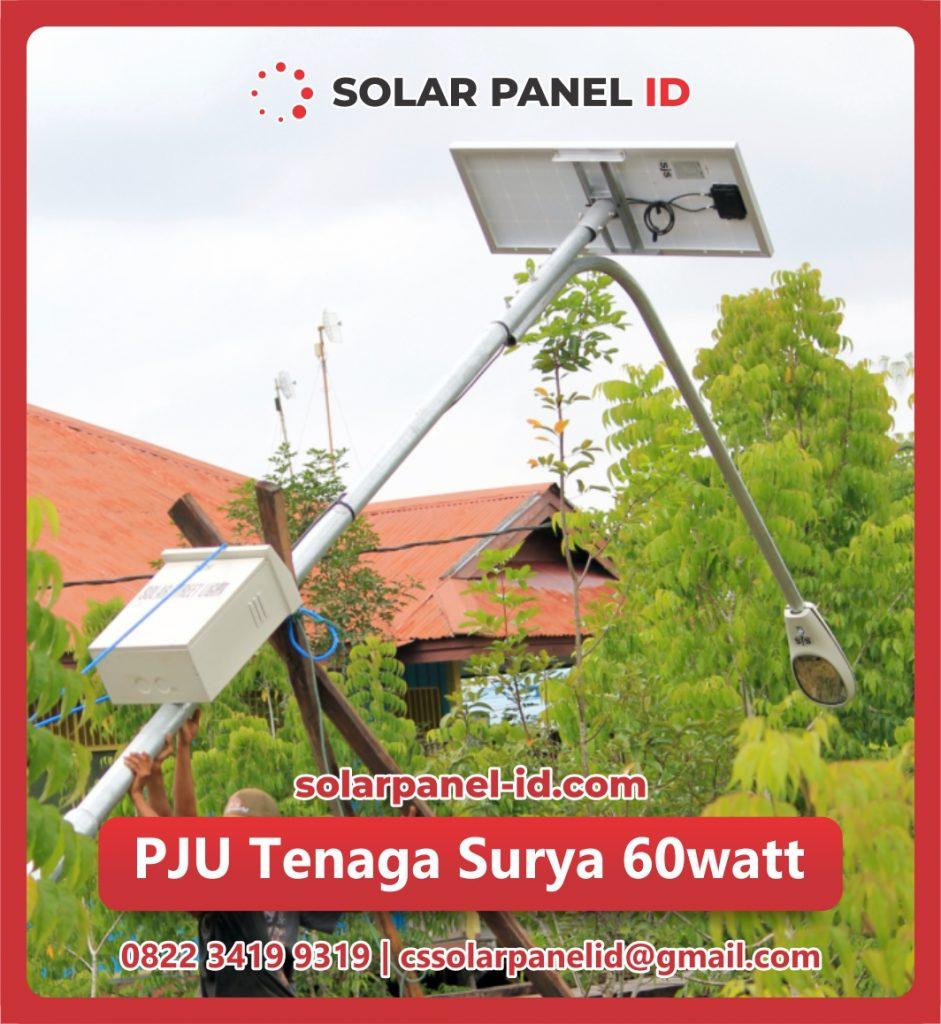 jual pju solar cell 60 watt 60watt