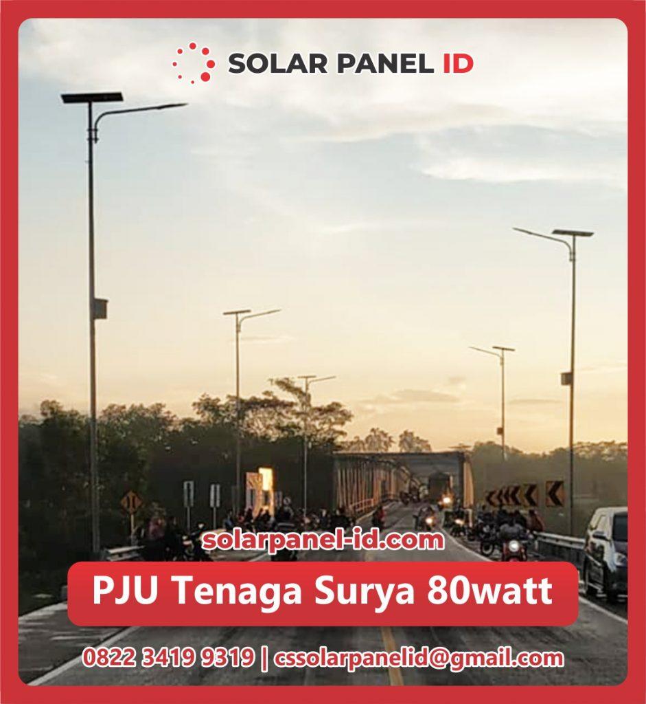 jual pju solar cell 80 watt 80watt