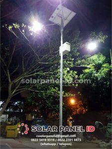 Harga Paket PJU Solarcell 50 watt satu set terbaru